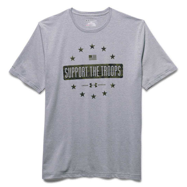 UA Tactical Men's Support The Troops Tee