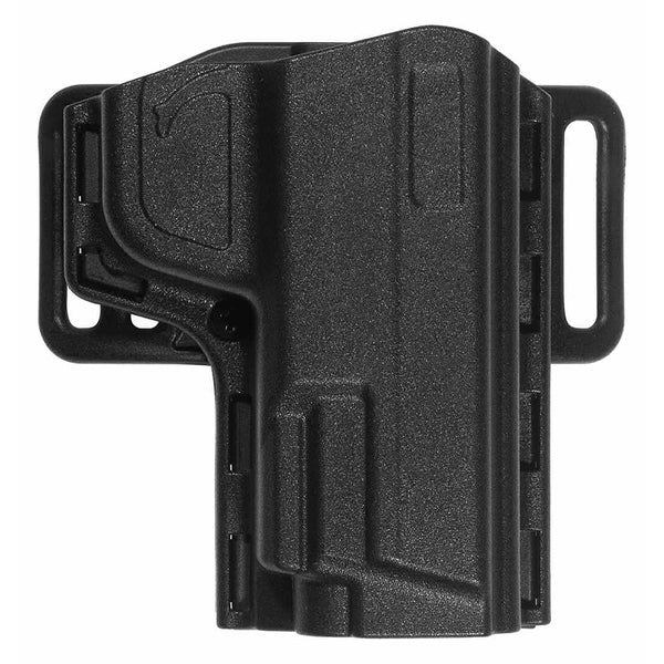 Uncle Mike's Reflex Open Top Holster - Black, Size 27, Right Hand