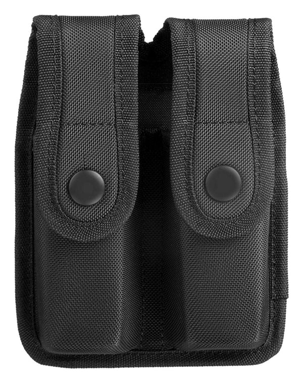 Uncle Mike's Sentinel Molded Nylon Double Magazine Case, Black, Glock 21