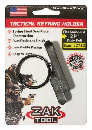 Zac Tool Low Profile Key Ring Holder for a 2.25