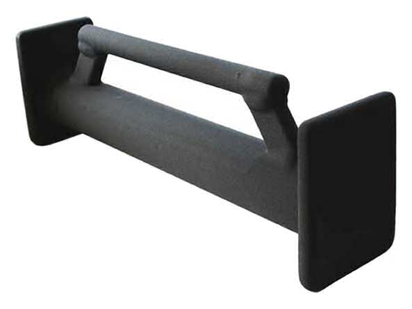 Zak Tool One Man Door Ram, Black Plastisol Coated