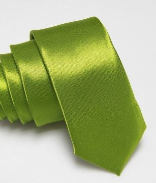 Army Green Slim Tie