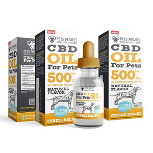 Pets Project PETS PROJECT CBD OIL 500mg x 2