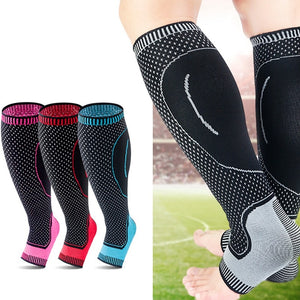 1pc Sports Safety Running Cycling Compression Sleeves Calf Leg Shin Splints Breathable Leg warmmers Sports Protection