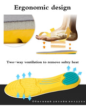 Load image into Gallery viewer, Memory Foam Sweat Absorption Shoe Insoles- 1 Pair