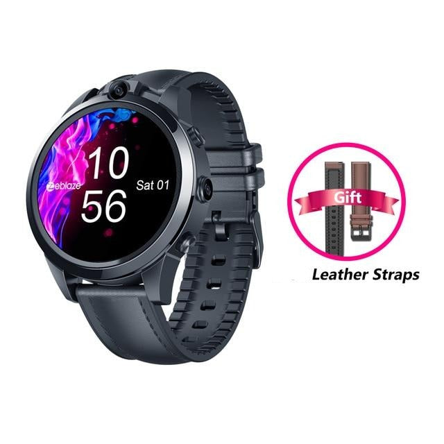 Zeblaze THOR 5 PRO 3GB+32GB Dual Camera Face Unlock Smart Watch