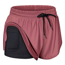 Load image into Gallery viewer, Women's Quick-Dry Running Shorts with Phone Pocket