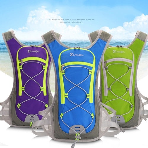 Unisex Waterproof Marathon Hydration Vest Pack for Water Bag and Backpack