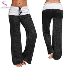 Load image into Gallery viewer, Women Full Length Yoga Pants with Elastic Waist