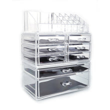 Load image into Gallery viewer, Acrylic Cosmetic Tower Makeup Organizer Holder Case Box Jewelry Storage Drawer Only Ship to US