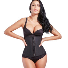 Load image into Gallery viewer, Belt Body Shaper - Steel Boned Shapewear Corset and Latex Waist Trainer For Women