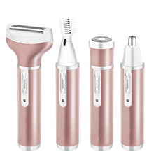 Load image into Gallery viewer, 4 In 1 Rechargeable USB Epilator Hair Remover