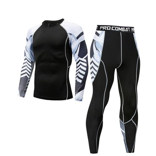 Men's Compression Sportswear Suit