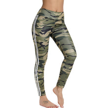 Load image into Gallery viewer, Women's Side Ribbon Strap Elastic Leggings