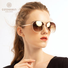 Load image into Gallery viewer, Women Fashion Gold Frame Classic Sunglasses - Unisex Outdoor Eyewear UV400