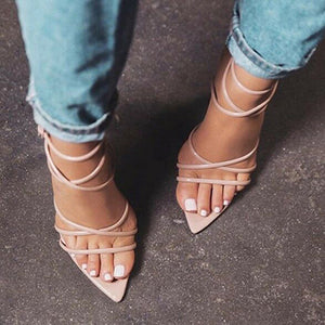 YahzaPretty Toes-Beige Affordable Heels, Boots and Sneakers