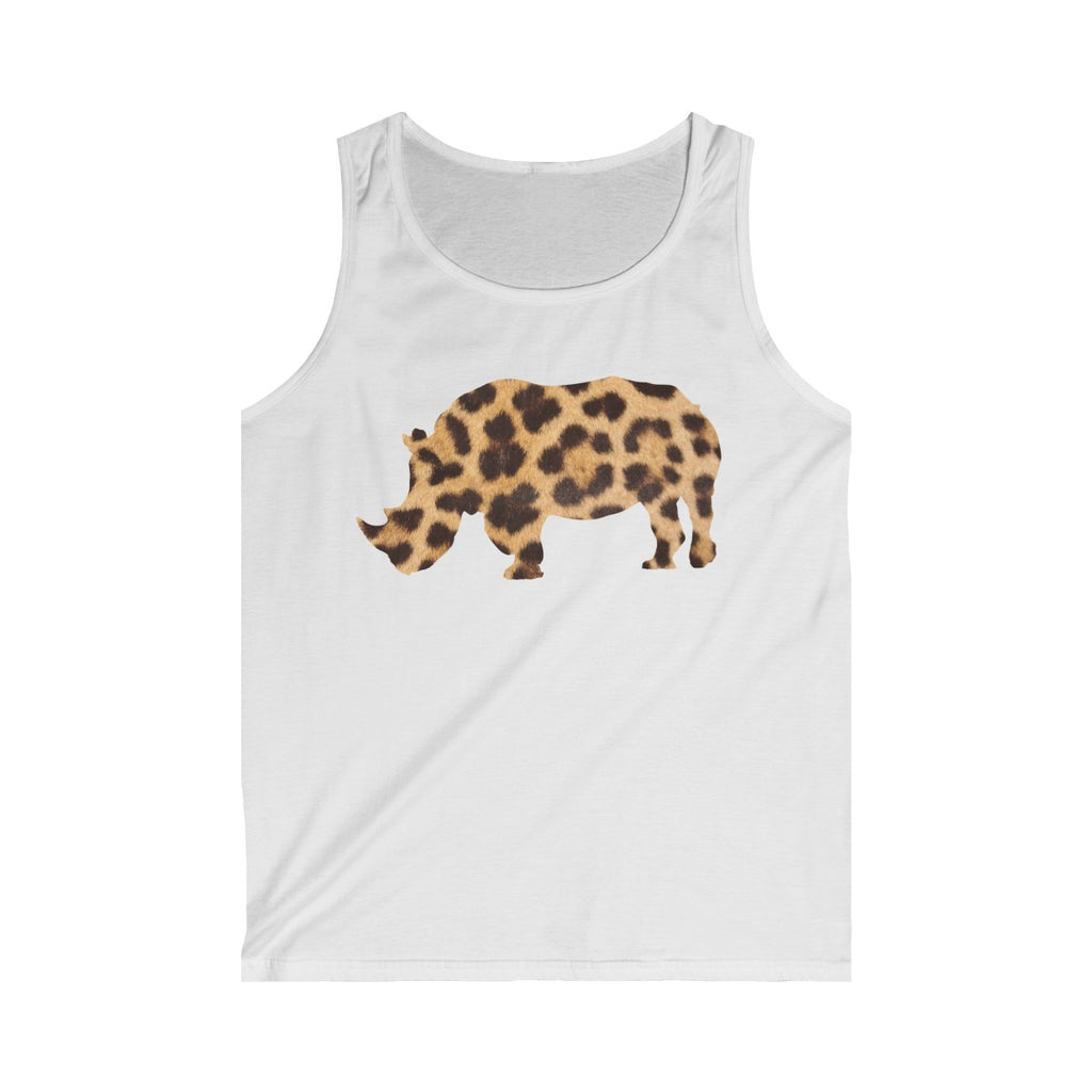 RHINO LEOPARD Men's Tank Top