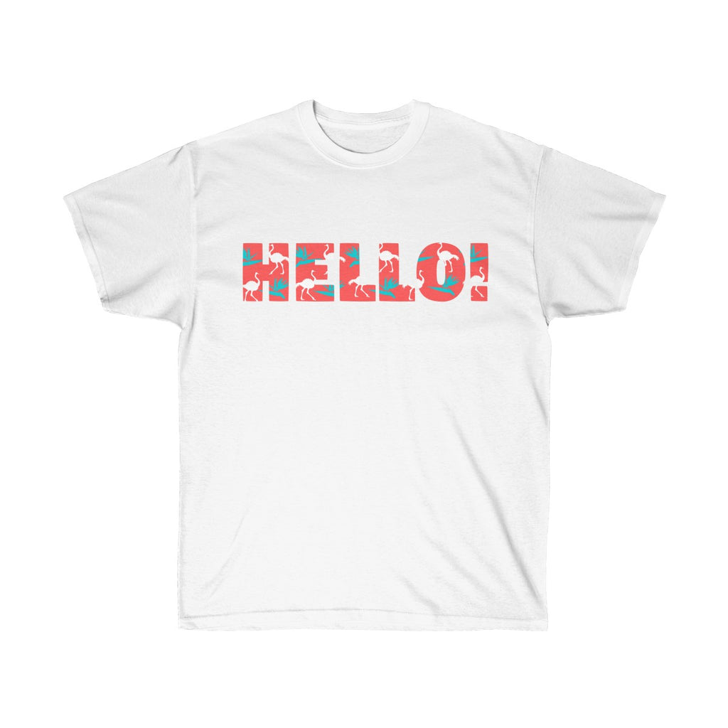 HELLO Cotton Tee