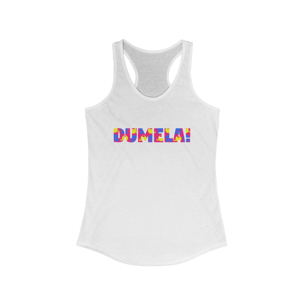 DUMELA Women's Racer Back