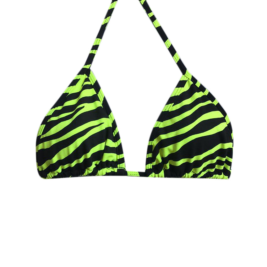 TRIANGLE TOP ZEBRA GREEN