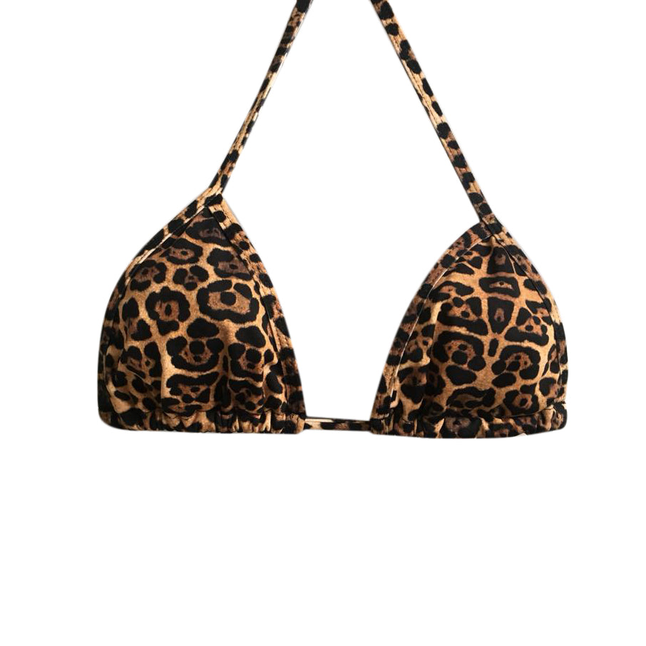 TRIANGLE TOP LEOPARD