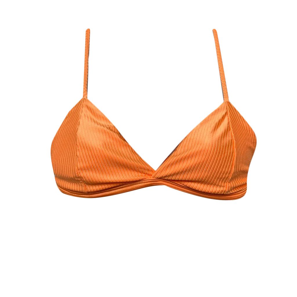 TRIANGLE TOP FIXED ORANGE TEXTURIZED