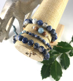 The Believe - Blue Sodalite Stack