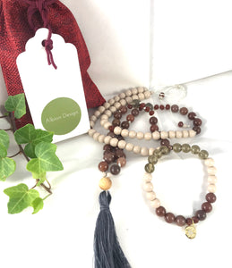 The Bayberry Necklace and Bracelet Set