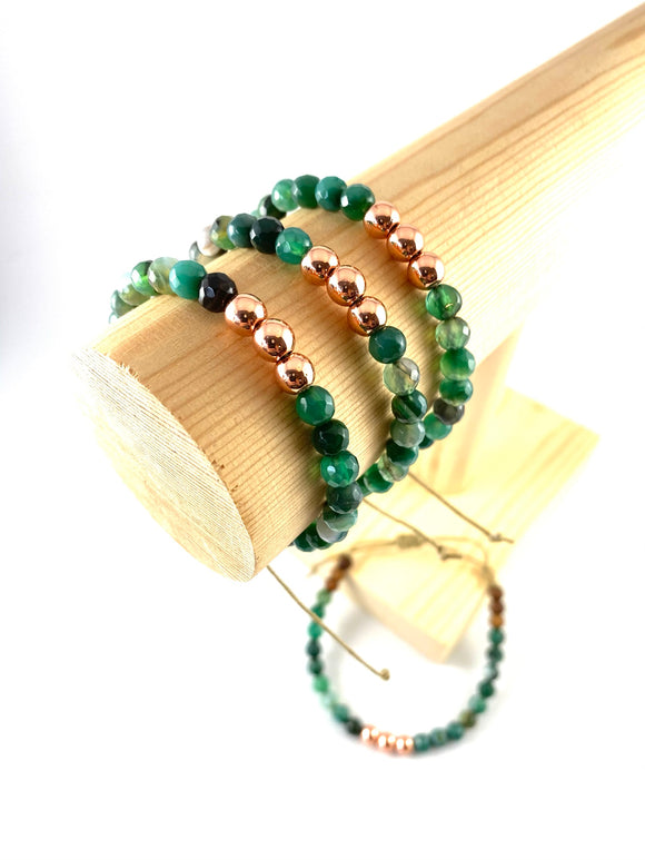 Green Goddess - Oil Diffuser Bracelet