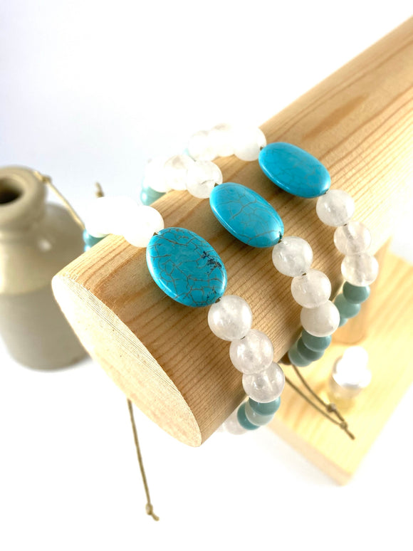Turquoise Charm Diffuser Bracelet
