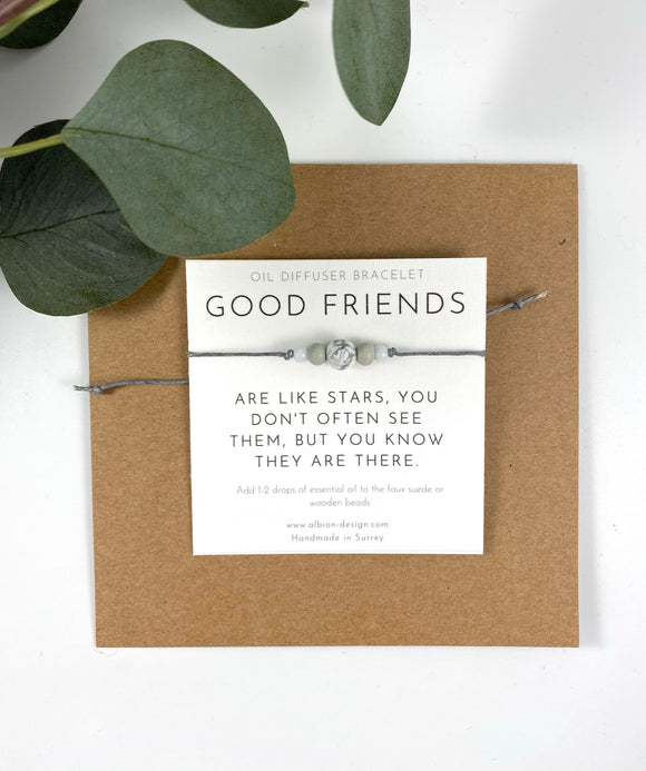 Good Friends - Friendship Diffuser Bracelet