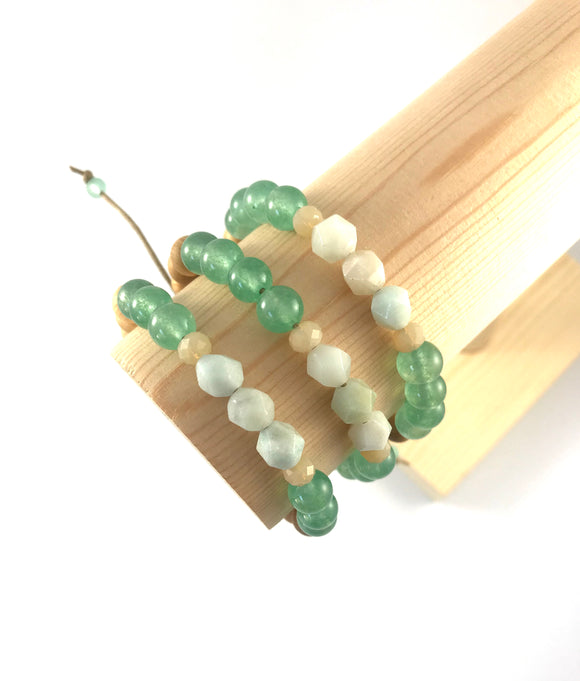 Sea Green - Amazonite Diffuser Bracelet