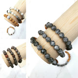 Steady Rock - Anthracite Diffuser Bracelet
