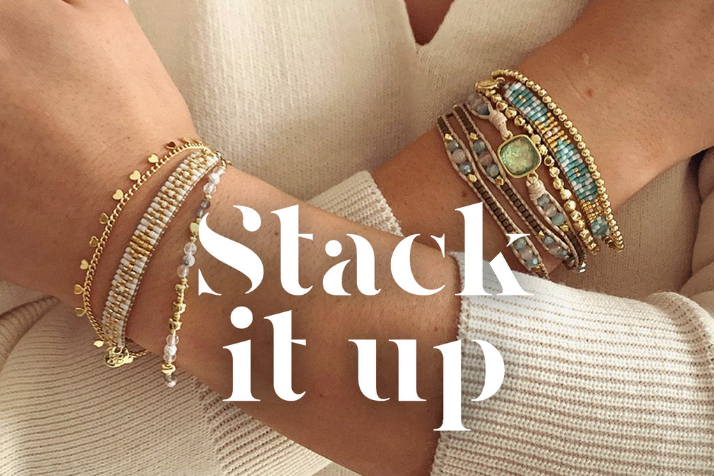 How to layer your bracelets... like a Pro!