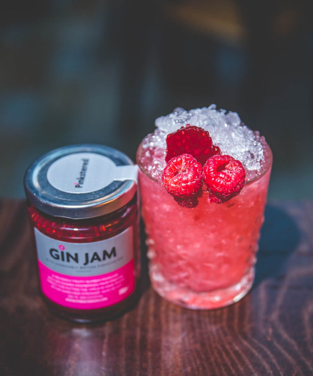 Pinkster Gin 'n' Jam Cocktail