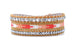 Bessie Smith Leather 3 Wrap Bracelet