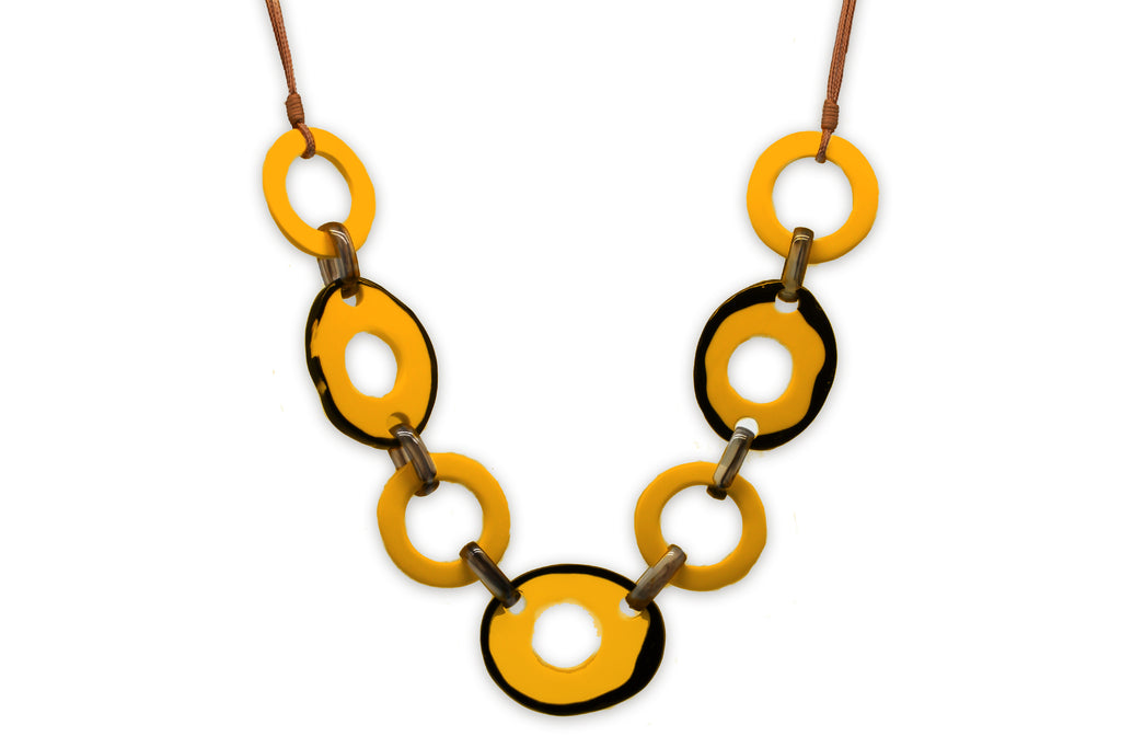 Theia Yellow Necklace