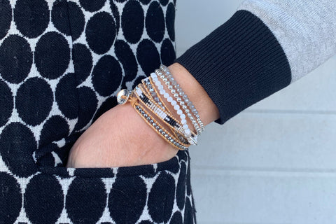 Apenzell 3 Layered Bracelet Stack