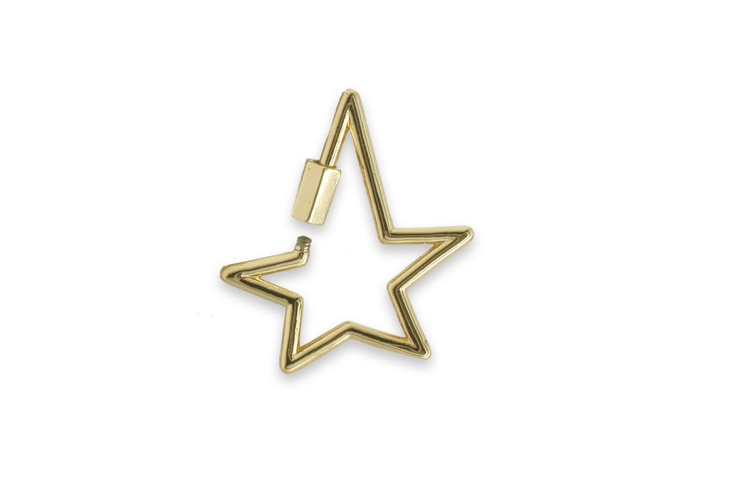 Gold Star Fastener - Boho Betty