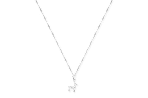 Meritage Silver Reindeer Necklace