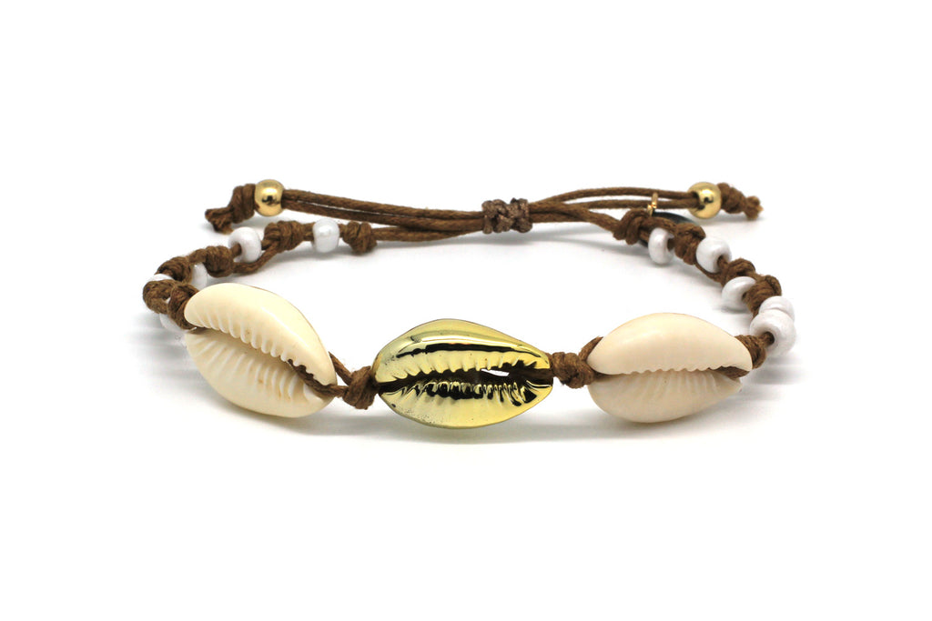 Bandari Tan Shell Friendship Bracelet
