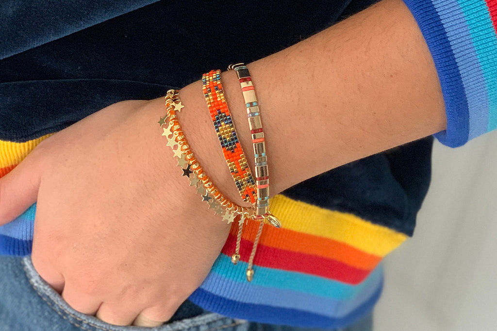Chicago 3 Layered Bracelet Stack - Boho Betty