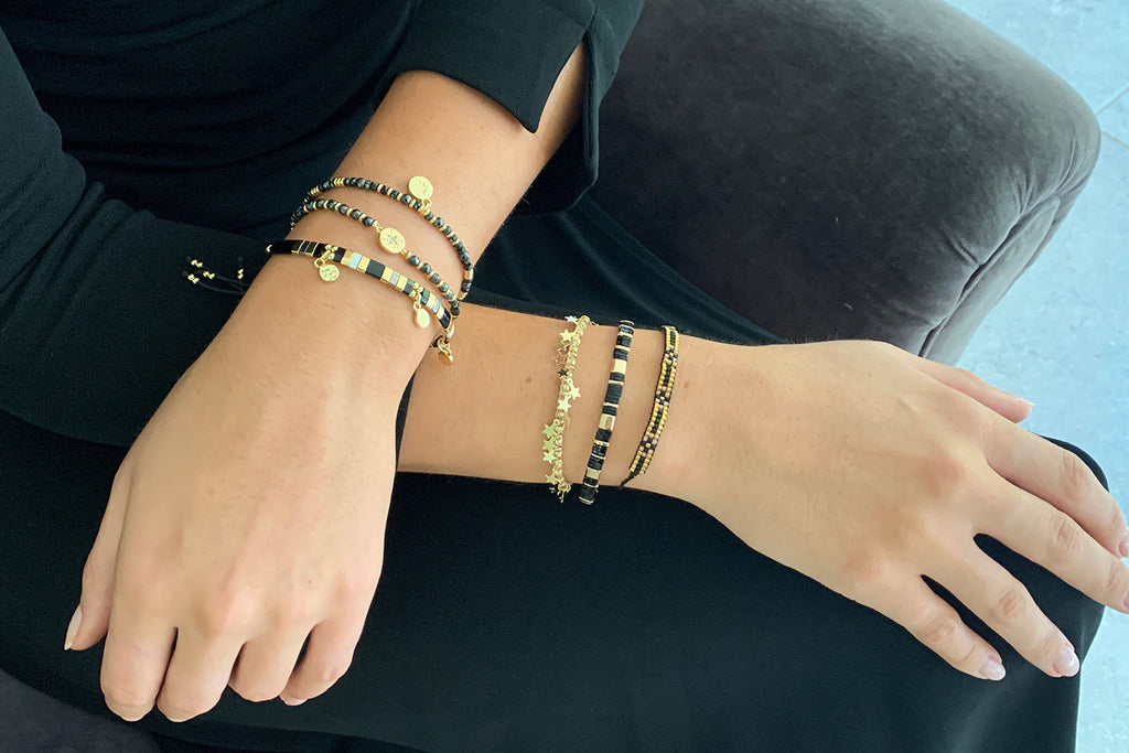 Guilin 3 Layered Bracelet Stack