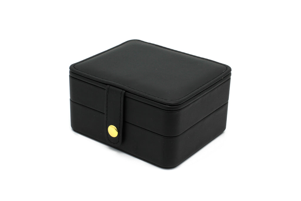 Butchart Black Square Jewellery Box - Boho Betty