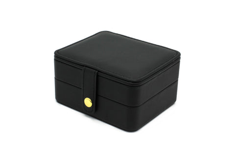 Butchart Black Square Jewellery Box