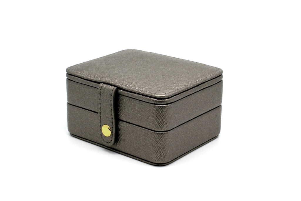 Butchart Grey Square Jewellery Box