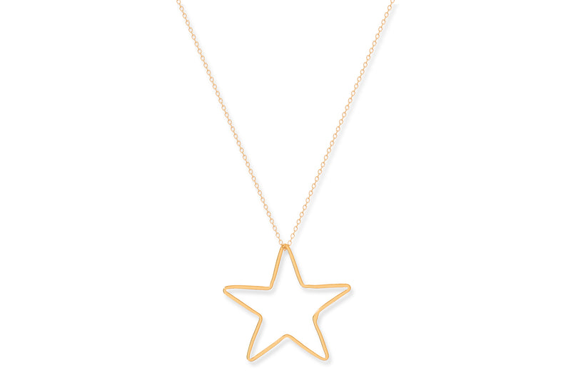 Concord Gold Star Necklace - Boho Betty