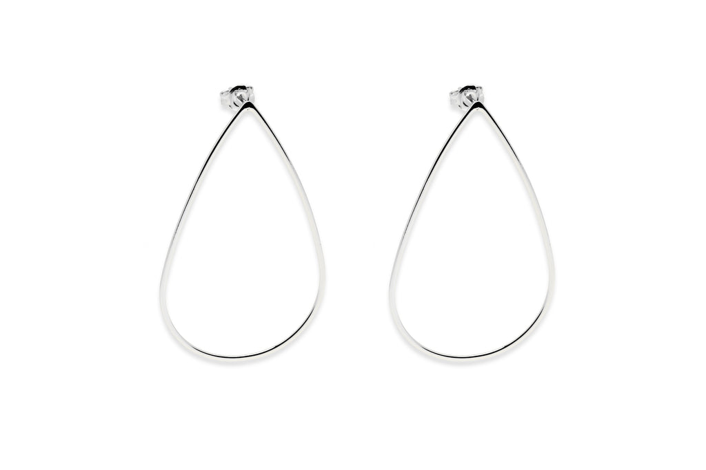 Dietrich Silver Teardrop Earrings