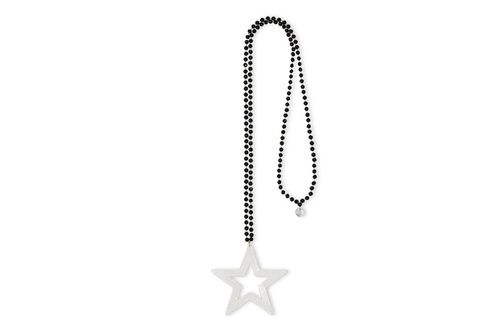 Durga Star Crystal Necklace - Boho Betty