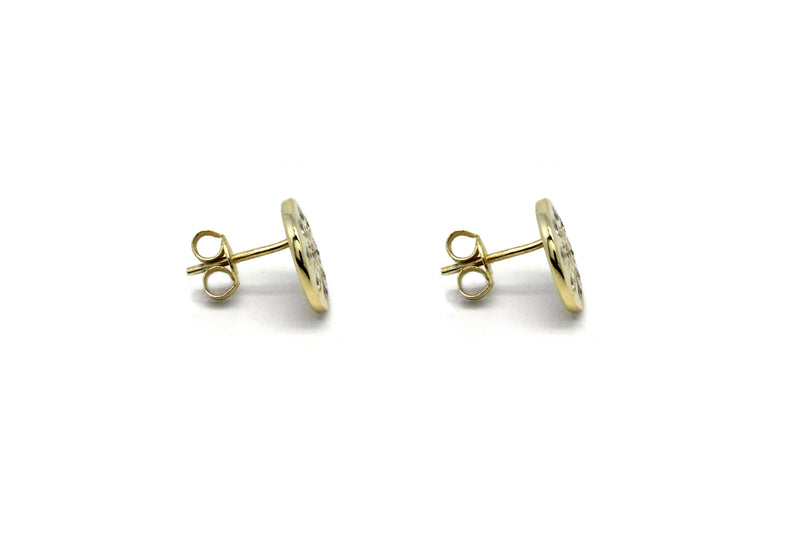 Arnes Gold Stud Earrings - Boho Betty